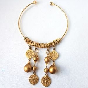 Charm Goldtone Necklace